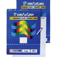 FlipChart Pad, 60X90cm, White, 20 Sheets/Pad