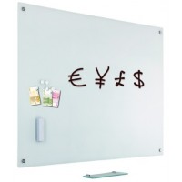 SMIT Glass2Write Magnetic Glassboard 90 X 120CM White