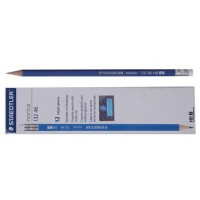 Staedtler Norica HB2 Pencil with Eraser PK/12