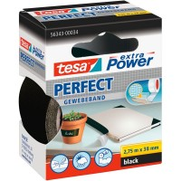 Tesa® Extra Power Perfect Tape 38MM X 2.75M Black [56343-34]