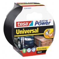 Tesa® Extra Power Universal Duct Tape 50MM X 10M Black [56348-01]