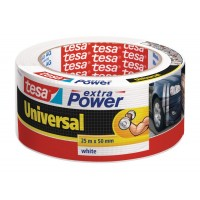 Tesa® Extra Power Universal Duct Tape 50MM X 25M White [56388-02]