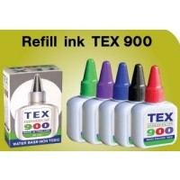 TEX 900 Stamp Ink, 28ml, Red
