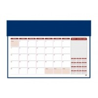 Desk Blotter W/ 2019 Year Planner, 49 x 34cm, Assorted