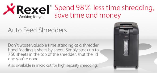 Rexel Auto Shredders