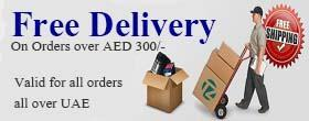 FREE Delivery on AED 300